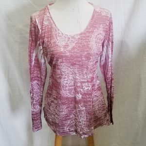 Maurices Pink Ombre Top